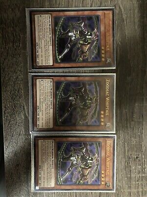 Yugioh Zoodiac Whiptail OP05-EN002 Unlimited Ultimate Rare Near Mint Fast Shippi