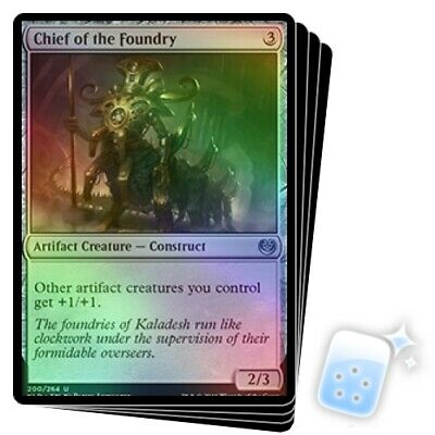 Chief of the Foundry {Kaladesh} x4 MTG Magic the Gathering LP