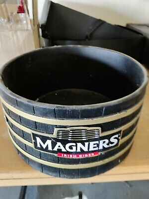 Magners Beer Advertising Round Plastic Barrel Theme Ice Bucket