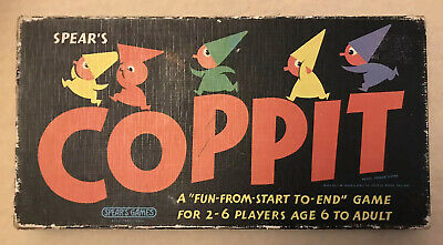 Details about  /Vintage Spear/'s Games 1964 Coppit Board Game ** SPARES ** Choose your piece