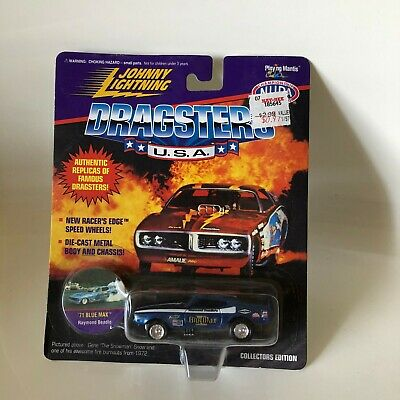 Johnny Lightning Dragsters U.S.A /'71 Blue Max Raymond Beadle Collectors Edition