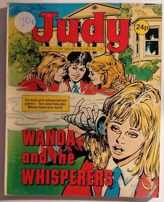 COMIC - JUDY UK Comic Picture Story Library For Girls No #278 Wanda And The...  - £2.00 | PicClick UK