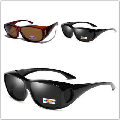 Polarized Womens Mens Fit Over Polarised Driving Fishing Sunglasses Vintage 009C
