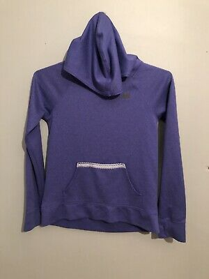 NB New Brand Girls Purple Sports Activewear Light Fitted Hoodie Age 9 Years