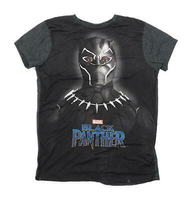 Primark Boys Graphic Multi-Coloured Marvel Black Panther T-Shirt Age 11-12 Years
