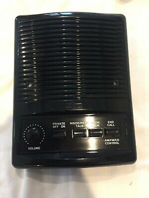 "Brand New Nutone ISA-445BL 5/"" Inside Intercom Speaker ~ Black"