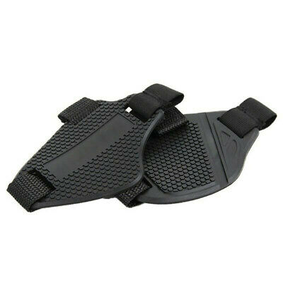 F FIERCE CYCLE Universal Black Gear Shift Shifter Case Boot Protector Cover Rubber Pad Anti Slip for Motorcycle