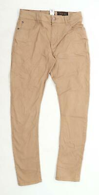 Next Boys Brown Jeans Age 14 Years