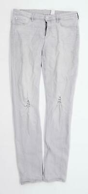 H&M Boys Grey Distressed Jeans Age 14 Years