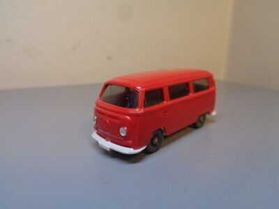 Wiking Germany Vintage 1960'S Vw Volkswagen Bus Ho Scale Mint Condition