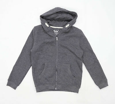 Primark Boys Grey Hoodie Age 10-12 Years