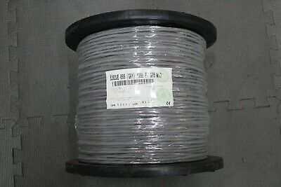 Belden 5302U1 Security /& Sound Cable 4-18 AWG Wet Location Black 1000/' Spool
