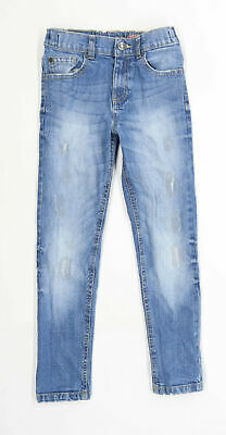 Bluezoo Boys Blue Skinny Jeans Age 8 Years