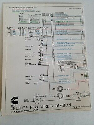 cummins laminated wiring diagrams  2500  picclick