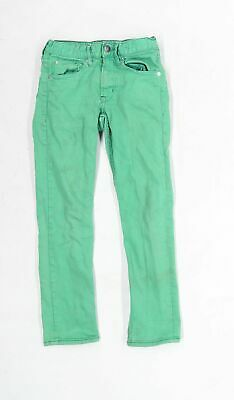 H&M Boys Green Jeans Age 9-10 Years