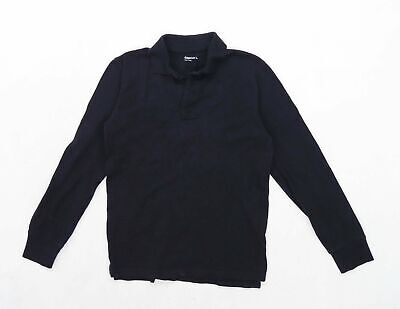 Gap Boys Black Polo Shirt Age 10 Years