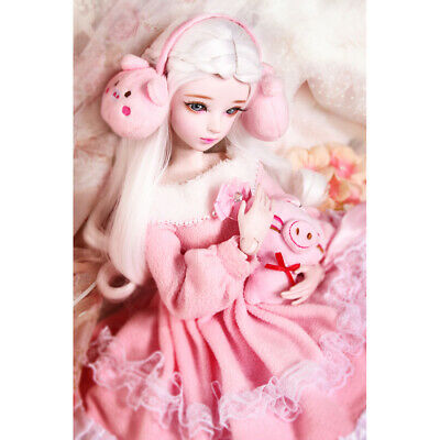 Fashion Doll Girl Dress Party Dance Gown Long Skirt for 1//3 BJD SD DOD Accs