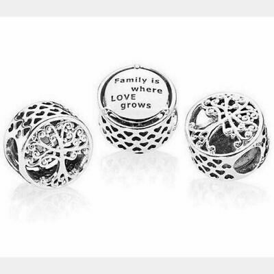 New Genuine Silver Pandora Family Roots Tree Charm Silver S925 Ale 797590 Uk 14 49 Picclick Uk