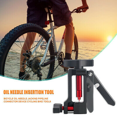 2 in 1 CNC Aluminum Bicycle Needle Tool Driver Hydraulic Disc Brake Hose Cutter