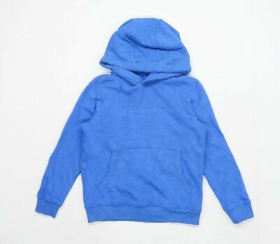 Next Boys Graphic Blue The Future Is Now Hoodie Age 7 Years