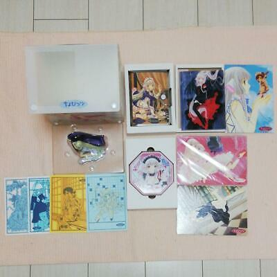 Chobits manga whole volume CLAMP appendix set figure original picture goods