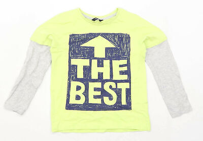 George Boys Graphic Multi-Coloured Long Sleeve T-Shirt Age 8-9 Years
