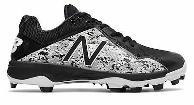 New Balance Low-Cut 4040v4 Pedroia TPU Baseball Cleat Mens Shoes Black with