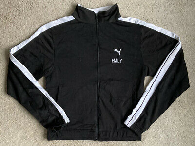 Puma Tracksuit Top Girls Impact Dance Company Size 12-13 Years? Black