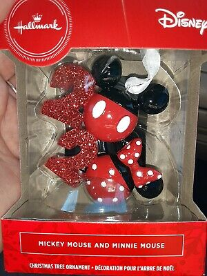 HALLMARK MICKEY MOUSE AND MINNIE MOUSE ICON 2020 ORNAMENT DISNEY