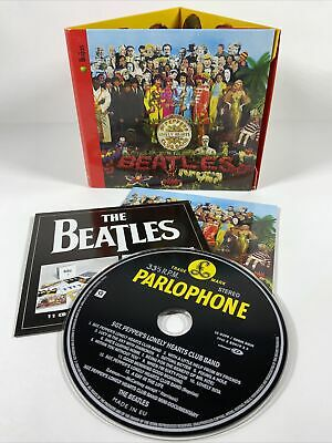 BEATLES - Sgt Pepper's Lonely Hearts Cub Band Remastered 2009 CD -  FREEPOST.