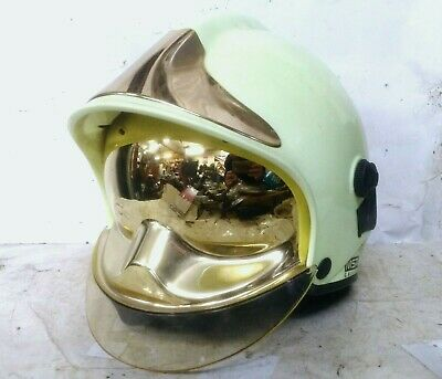 Gallet F1XF Fire Helmet Station Manager Rank Markings FIRE FIGHTER