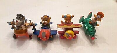 Set of 4 1989 Vintage McDonalds Happy Meal Diecast Talespin toys all MIP