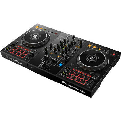 Pioneer DJ DDJ-400 Portable 2-Channel rekordbox DJ Controller (Black)