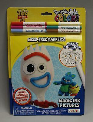 Disney Imagine Ink Toy Story 4 Ink Free Mess Free Magic Ink Coloring Book W Pen 5 00 Picclick