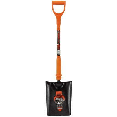 Sitemate Insulated Taper Mouth Shovel Hardened Steel Spade Reinforced Handle
