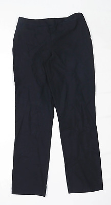 George Boys Black Trousers Age 13-14 Years