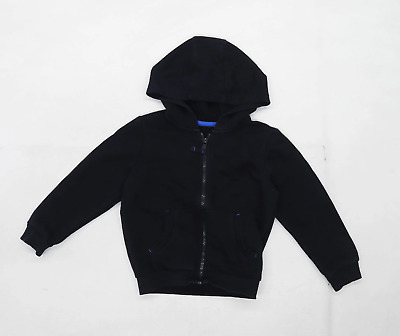 George boys Black Hoodie Age 4-5 Years