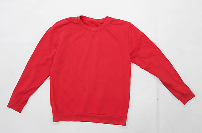 George boys Red Sweatshirt Age 12-13 Years
