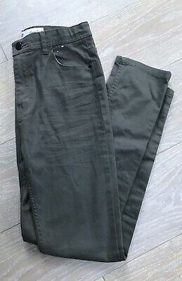 Boys Khaki Primark Stretch Skinny Jean Age 13-14 Years Height 164cm Adjust Waist