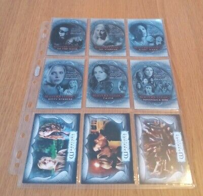 Angel Season 4 Complete Deceptions Chase Card Set D1-9