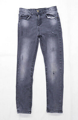 Urban Outlaws Boys Grey Skinny Jeans Age 10-11 Years
