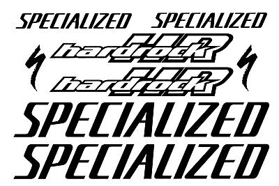 Specialized Bicycle Stickers//Decal Set MTB//ROAD Various Colors