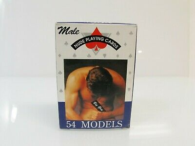 54 Coated Playing Cards Colt Male playing cards