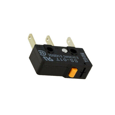 OMRON ON 2x d2f-01f-t Micro-interrupteur SNAP ACTION SANS LEVIER SPDT 0,1a//30vdc on