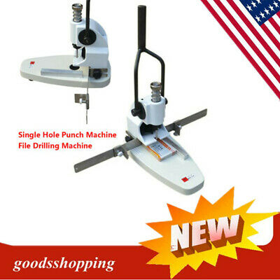 Drilling Machine,Hole Puncher,QY-T30 Manual Paper Hole Punch Single Hole File