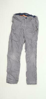 H&M Boys Grey Chino Trousers Age 9-10 Years
