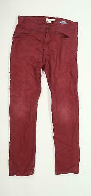 H&M Boys Burgundy Chino Trousers Age 14-15 Years