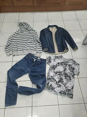Boys clothes Bundle Age 11-12 Jeans T-Shirt Long Sleeve Shirt Mainly Next