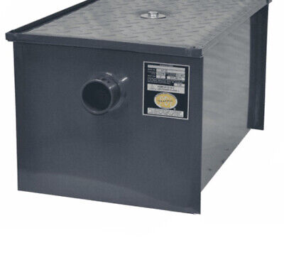 BK-GT-14 Grease Trap Interceptor 14 lb Oil Capacity 7 GPM Rate Flow PDI Cert.