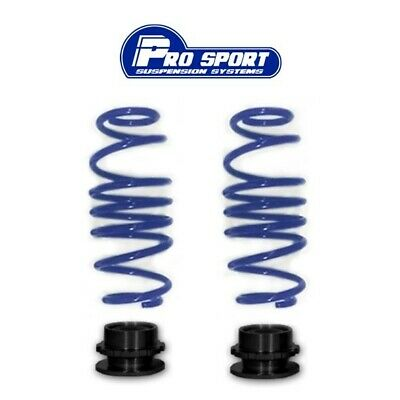 2x Rear Lowering Springs /& 2x Adjuster Cups for Coilover Kit Fits Audi A3 Mk2 8P